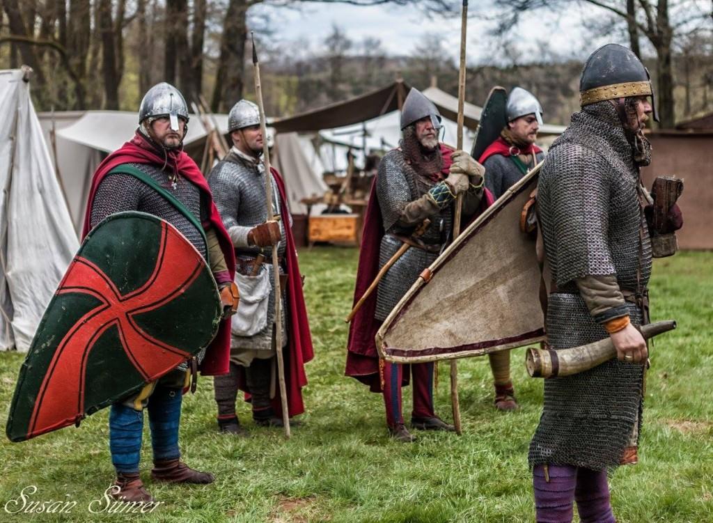 Feldherren mit Garde