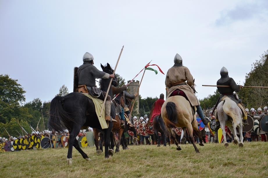 Hastings Reiterangriff